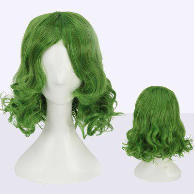 Short Shaggy Wavy Cosplay Synthetic Wig