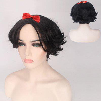 Short Straight Princess Cosplay Synthetic Wig