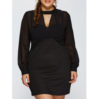 Cut Out Empire Waist Dress