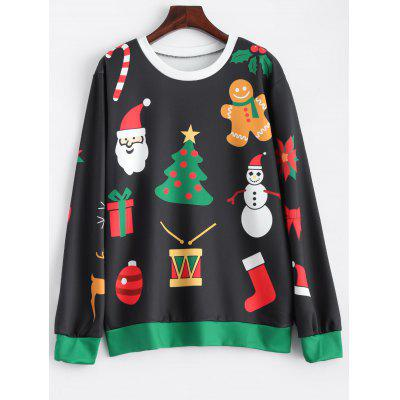 Christmas Pattern Sweatshirt