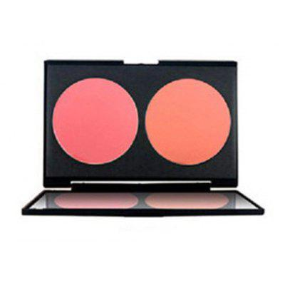 2 Colours Blush Palette with Mirror