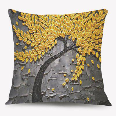 Tree of Life Oil Painting Cushion Throw Pillow Case