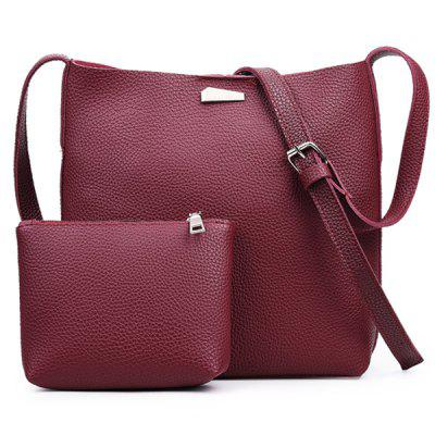 Bolso Retro Metálico Crossbody de Embrague