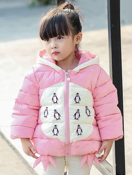Cartoon Hooded Padded Jacket