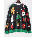 cheap Christmas Pattern Sweatshirt
