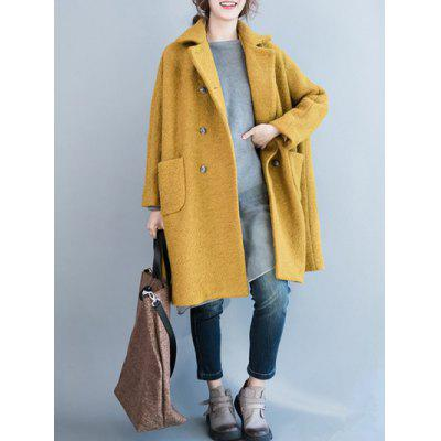 Vintage Loose Pea Coat