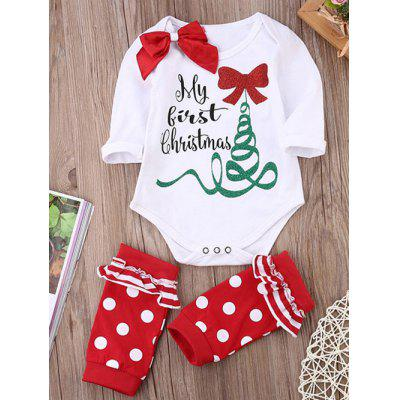 Christmas Costume Gift Girls Rompers Clothing