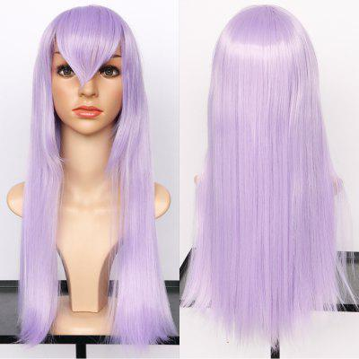 Long Straight Side Bang Synthetic Cosplay Wig