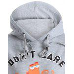 Front Pocket Pullover Hoodie - GRAY