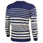 Crew Neck Wave Stripe Pullover Knitwear deal