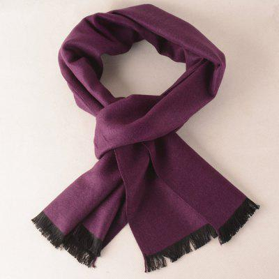 Winter Noble Fringe Scarf
