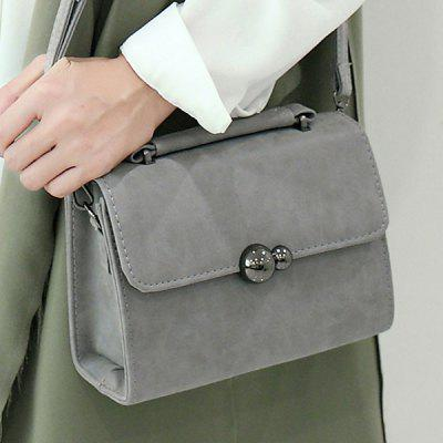 PU Leather Stitching Cross Body Bag