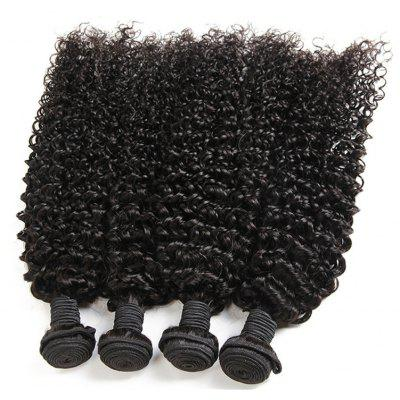 1 Pcs Kinky Curly Brazilian 6A Virgin Hair Weave