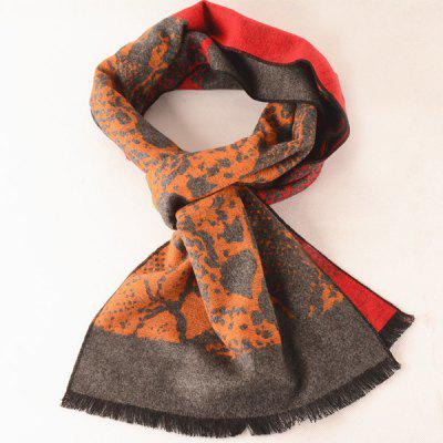 Inverno Abstract Pattern Scarf Quente