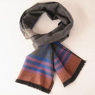 Hiver Incliné Striped Scarf Pattern