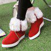 Wedge Heel Furry Ankle Boots deal