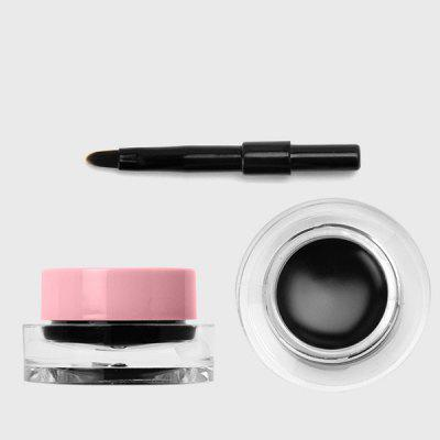 Waterproof Gel Eyeliner with Brush