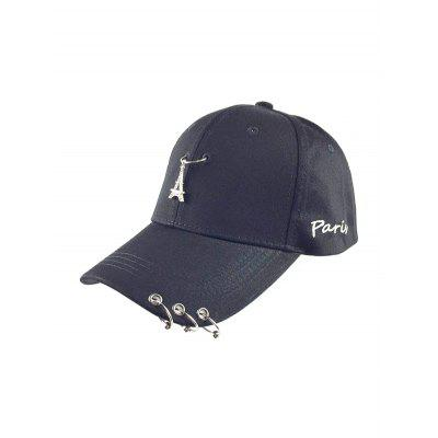 Casual Iron Circle Hip Hop Baseball Hat