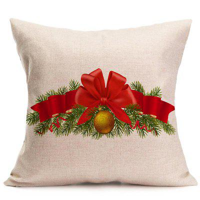 Sofa Cushion Christmas Bell Throw Pillow Cover