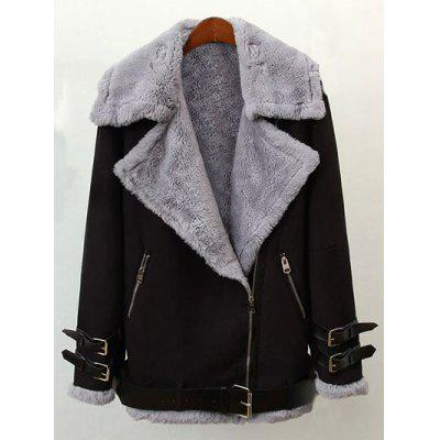 Faux Shearling Winter Jacket