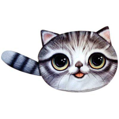 Buy GRAY Colour Splicing Cat Shape Zipper Coin Purse for $10.78 in GearBest store