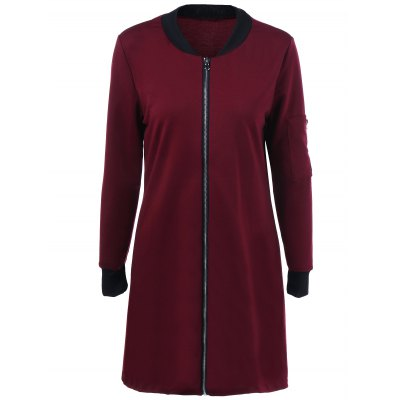 Full Zip Long Jacket