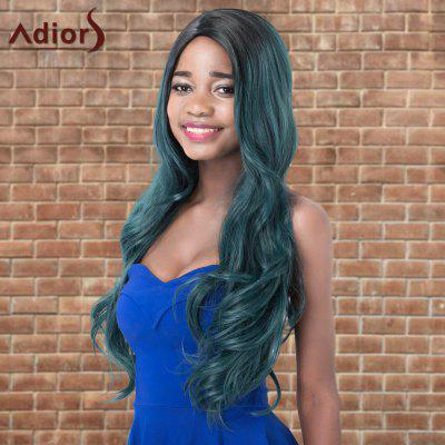Buy COLORMIX Adiors Colormix Long Shaggy Wavy Side Parting Synthetic Wig for $22.03 in GearBest store