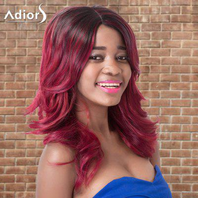 Buy COLORMIX Adiors Long Side Parting Wavy Colormix Synthetic Wig for $18.42 in GearBest store
