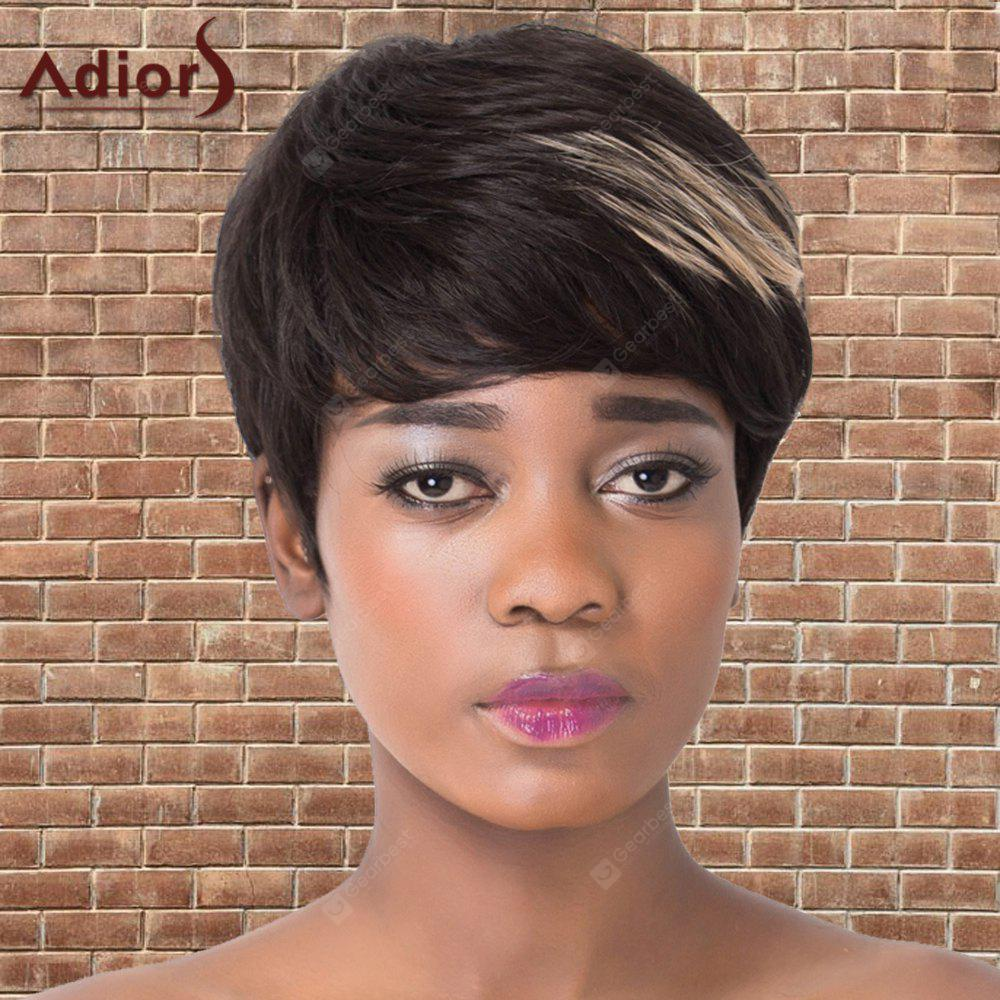 BLACK AND GOLDEN, Health & Beauty, Hair Extensions & Wigs, Synthetic Wigs