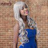 cheap Adiors Long Shaggy Wavy Inclined Bang Synthetic Wig