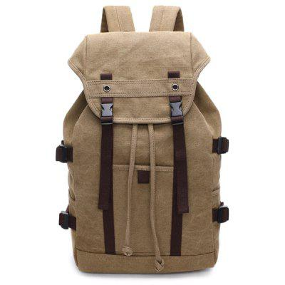 Straps Canvas Multifunctional Backpack