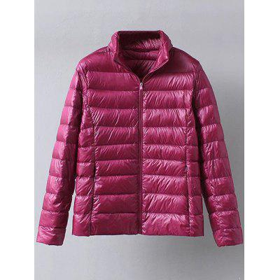 Zip Up Casual Down Jacket