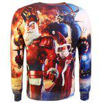 Camisola do Natal Crew Neck Graphic Feio - COR MISTURA