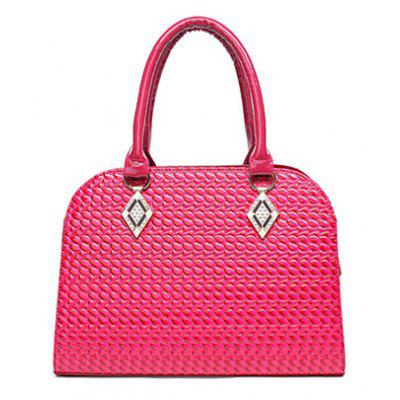 Embossing Patent Leather Handbag