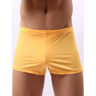 Breathable Low Waist U Convex Pouch Boxer Brief