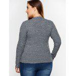 Plus Size Fitted Knitwear for sale
