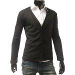 cheap Slim Fit V Neck Button Cardigan