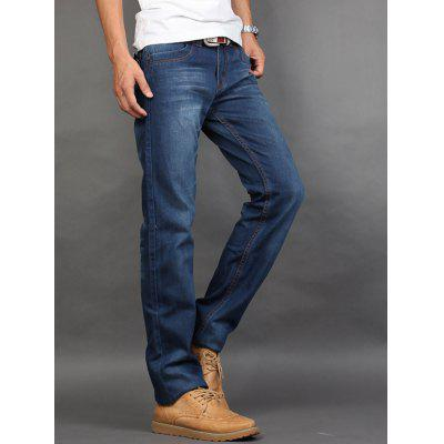 Straight Leg Zip Fly JeansMens Jeans<br>Straight Leg Zip Fly Jeans<br><br>Closure Type: Zipper Fly<br>Fabric Type: Denim<br>Fit Type: Regular<br>Material: Cotton, Jeans<br>Package Contents: 1 x Jeans<br>Pant Length: Long Pants<br>Pant Style: Straight<br>Waist Type: Mid<br>Wash: Medium<br>Weight: 0.650kg<br>With Belt: No