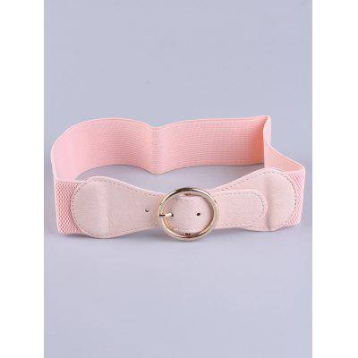 Bowknot Round Buckle Cinch Waist Belt