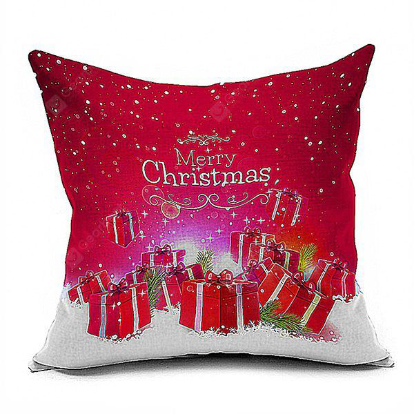 Merry Christmas Gifts Cushion Throw Pillow Case
