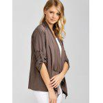 Asymmetric Loose Duster Coat deal