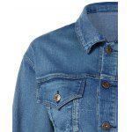 Pocket Star Appliques Denim Jacket deal