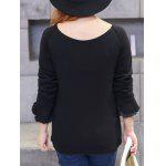 Plus Size Brushed Keyhole Long Sleeve Tee for sale