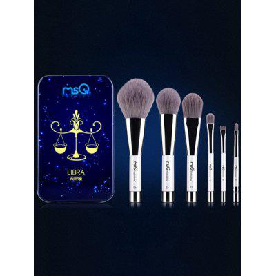 Libra 6 Pcs Magnetic Makeup Brushes Kit