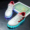 Unisex USB Charging Sports Shoes Flashing Sneakers for sale