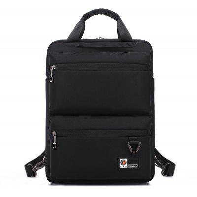 Buy BLACK Pocket Nylon Zippers Backpack for $28.47 in GearBest store
