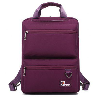 Buy PURPLE Pocket Nylon Zippers Backpack for $28.47 in GearBest store