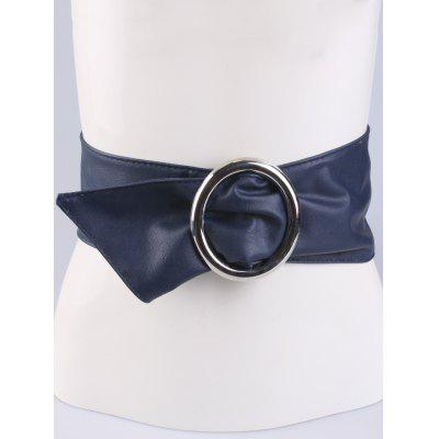 Coat Wear Alloy Ring PU Belt