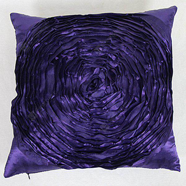 Lifelike 3D Floral Back Cushion Pillow Case