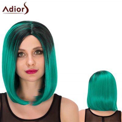 Adiors Medium Straight Centre Parting Bob Cosplay Synthetic Wig
